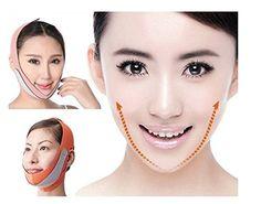 V Face Chin Cheek Lift Up Slimming Bandage Slim Chin Face Mask Ultrathin Belt Strap Band by STMarket >>> Visit the image link more details. (Note:Amazon affiliate link)