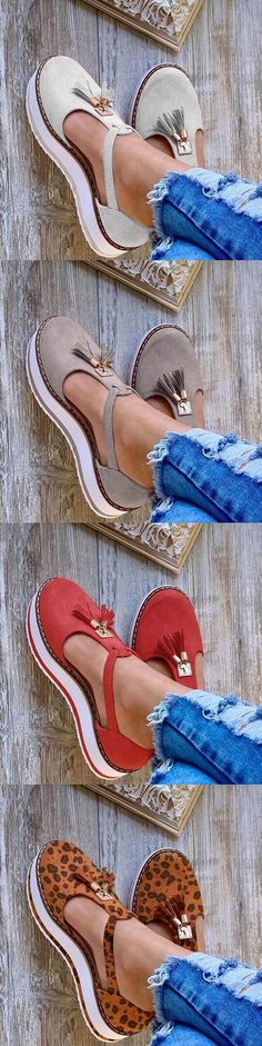pretty shoes sneakers Summer Wedge Suede Plus Size Sandals Pretty Shoes, Cute Shoes, Me Too Shoes, Summer Wedges, Summer Shoes, Outfit Summer, Bracelet Cuir, Looks Chic, Crazy Shoes