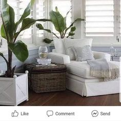 """@beach_is_my_style_home_decor shared a photo on Instagram: """"Another home run pic from yesterday. I love it! #beach_is_my_style #tropicaldecor #beachdecor"""" • Apr 15, 2021 at 5:54pm UTC Cottage Living Rooms, Coastal Living Rooms, Living Room Decor, Cottage Rugs, Style At Home, Salons Cottage, Style Cottage, French Cottage, Cottage Chic"""