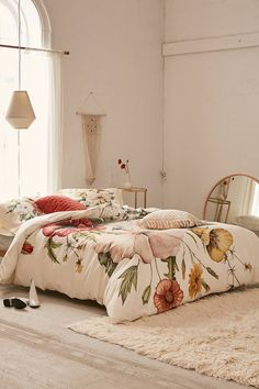 shealeen louise for deny wildflower bouquet duvet cover
