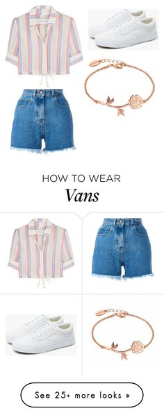 """Untitled #505"" by aleesha198 on Polyvore featuring Solid & Striped, Philosophy di Lorenzo Serafini and Vans"