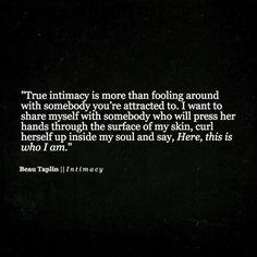 Beau Taplin | Intimacy