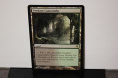 Verdant Catacombs Magic The Gathering MTG Trading Card Wizards Of The Coast #WizardsoftheCoast White Plains, Collectible Cards, Catacombs, Wizards Of The Coast, Magic The Gathering, Mtg, Trading Cards, Worlds Largest, Life