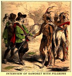 "On This Day (3/16/1621): In 1621 Samoset, an Abenaki, became the first Native American to make contact with the English Pilgrims of Plymouth Colony in present-day Plymouth, Massachusetts. He is reported to have said, ""Welcome, Englishmen! My name is Samoset."" On March 16, 1621, the settlers were more than surprised when Samoset strolled straight through the middle of the encampment at Plymouth Col... See More"