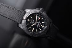 With a precise automatic movement and a water resistence of up to 100 metres, the Breitling Avenger Ref. is ready for any adventure, are you? Breitling Watches, Avengers, Adventure, Luxury, Water, Outfits, Accessories, Ideas, Design