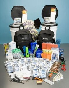 All-In-One 4 person survival  kit