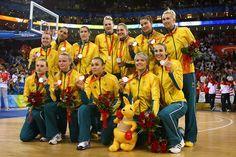 Internationally famous Australian Women's Basketball team the Opals