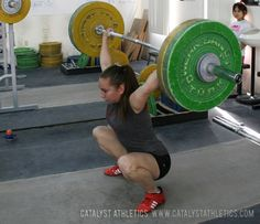 The importance of confidence to be successful in Olympic weightlifting