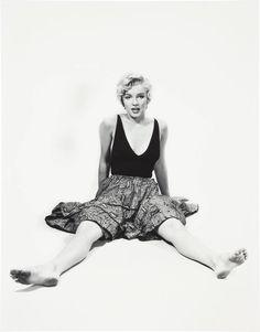 1954: Marilyn by Philippe Halsman.