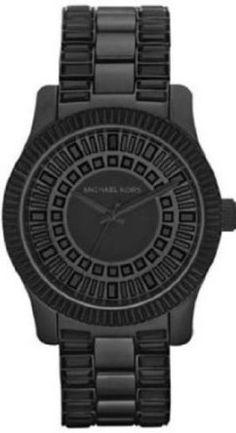 Michael Kors Watch Women's Black Stainless Steel Bracelet MK5546