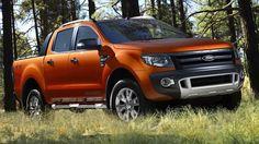 Orange ford ranger