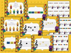 "Music a la Abbott - Amy Abbott - Kodály Inspired Blog and Teachers Music Education Resource: ""Treble Clef is AWESOME!!!"" games, worksheets, assessments, matching games and 8 interactive PowerPoints"