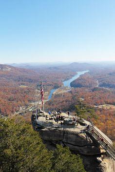 Chimney Rock, NC - North Carolina Mountains - Chimney Rock State Park