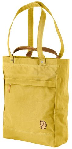 Fjallraven Totepack - carry by hand, over the shoulder or as a backpack.  Waxed canvas, tons of pockets.  Diaper bag.