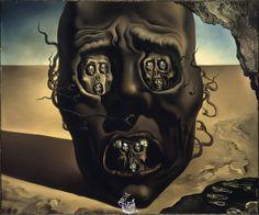 Visage de la guerre (1940) Salvador Dalí