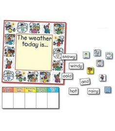 Weather: Kid-Drawn Bulletin Board Set - Carson Dellosa Publishing Education Supplies