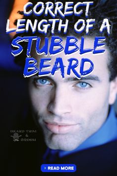 What should be the length of your stubble beard. Here you can find out some tips on maintaining a stubble beard.  Read more about trimming a beard at beardtrimandgroom.com #beardtrimming #stubblebeard #howtotrimabeard Men With Stubble, Stubble Beard, Beard Wax, Beard Growth Tips, Beard Tips, Best Beard Care Products, Diy Beard Oil