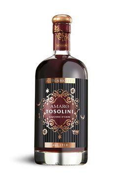 Marvelous Amaro Tosolini Amaro Tosilini hails from the Distilleria Bepi Tosolini Founded in