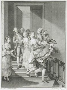 Le honte et le remords vengent lamour outragé Book: La Nouvelle Héloïse Nicolas de Launay (France, 1739-1792) France, 1776