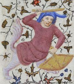 Book of Hours, MS M.1004 fol. 110v - Images from Medieval and Renaissance Manuscripts - The Morgan Library & Museum