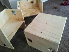 Cube chairs