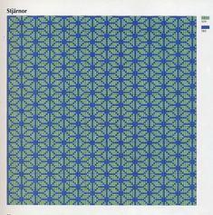 "Photo from album ""Ingrid Plum-Klassiskt korsstygns broderi"" on Yandex. Intarsia Knitting, Knitting Charts, Knitting Stitches, Knitting Patterns, Graph Design, Chart Design, Tapestry Crochet Patterns, Crochet Motif, Fillet Crochet"