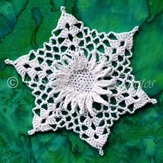 White Sunflake III