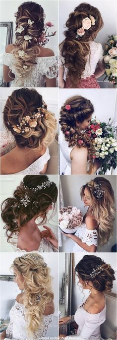 65 New Romantic Long Bridal Wedding Hairstyles to Try / Ulyana Aster www.ulyanaaster.com #weddinghairstyles