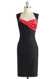 Trouvé ma robe du temps des Fêtes! - Dynamic Dame Dress, #ModCloth