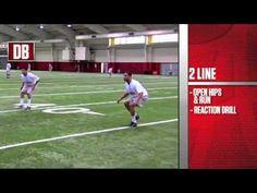 Alabama 2 Line Drill-Defensive Backs