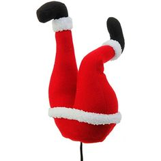 Plush Santa Claus Butt Pick Accent Christmas Tree Ornament Decor 14 Inch x 45 inch x 75 inch on Bendable STick by Raz >>> You can get additional details at the image link. (This is an affiliate link) Christmas Cake Pops, Christmas Tree And Santa, Christmas Picks, Christmas Sewing, Christmas Store, Christmas Projects, Merry Christmas, Elf Decorations, Christmas Tree Decorations
