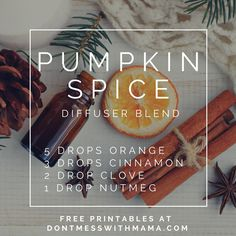 10 Fall Essential Oil Diffuser Recipes + Free Printable 10 Fall Essential Oil Diffuser Recipes – check out these easy fall scents you… Essential Oils For Colds, Essential Oil Diffuser Blends, Essential Oil Uses, Doterra Diffuser, Aromatherapy Diffuser, Pure Essential, Essential Oil Combinations, Diffuser Recipes, Living Oils
