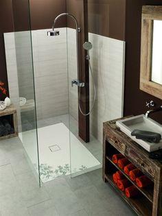 Duschfläche Conoflat in weiß von Franz Kaldewei - Ahlen