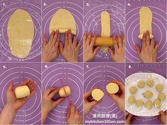 Spiral Curry Puff (Karipap Pusing): Deep-Fried or Baked Spiral, Curry, Deep, Baking, Patisserie, Kalay, Bread, Curries, Bakken