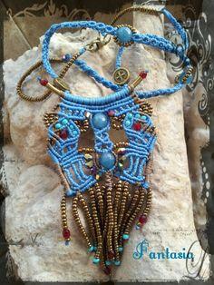 #macrame #necklace #handmade