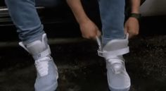 Back to the Future becomes a reality (well, sort of...): Nike to sell Marty McFly's self-tying Power Laces in 2015