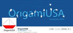 OrigamiUSA is on Facebook at: https://www.facebook.com/OrigamiUSA?hc_location=timeline  //  OrigamiUSA's mission is to share the joy and appreciation of paperfolding, preserve its history, nurture its growth, bring people together and encourage community among paperfolders.  //  Origami Facebook Pages is provided by www.standinnovations.com