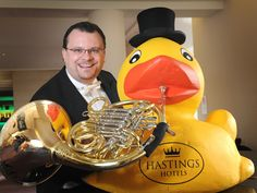 The French Horn Playing Duck