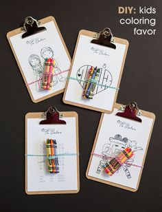 hello, Wonderful - KIDS COLORING FAVORS WITH FREE PRINTABLES