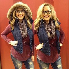 Hood on? Hood off? We are over here LOVIN' faux fur anything this fall! We're also loving pretty much anything burgundy! Fall clothes are the best clothes! #buckleunstoppable #teambuckle #buckledout #getfitted #happyfalleverybody | Content shared via buckle Inspiration Gallery