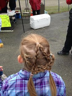 Claire's Hair: Star Braids Fourth of July