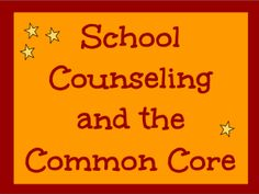 This website helps counselors understand their role in the integration of Common Core Standards and how they can include the standards into their practice to improve student learning and the school counseling program. Middle School Counseling, Elementary School Counselor, School Social Work, Counseling Office, School Advisor, Counseling Activities, Guidance Lessons, School Psychology, Screen Shot