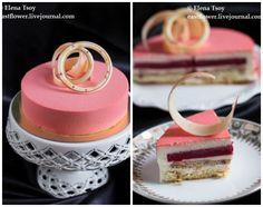 "Торт ""Sutil"" Ханса Овандо Entremet Recipe, Mousse Cake, Vanilla Cake, Cake Recipes, Deserts, Food And Drink, Sweet, Sorting, Collage"
