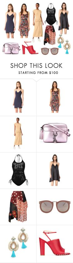 """""""Welcome To Latest Trends"""" by donna-wang1 ❤ liked on Polyvore featuring Alice + Olivia, Black Halo, Joseph, Rebecca Minkoff, Ermanno Scervino, Cami NYC, Simone Rocha, Karen Walker, Deepa Gurnani and Valentino"""