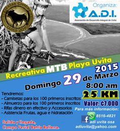 Recreativa MTB Playa Uvita 2015