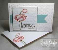 Unfrogettable Stamping | Stampin' Up! Simply Sketched QE birthday card 2013-06-04 by lorie