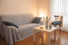 Salón después de realizar el Home Staging