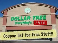 A List of everything you can walk out of the Dollar Tree with today for FREE. Anything from tape, nuts, medicine and Make-up!! #Couponslisted