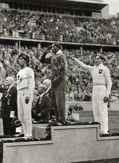 Jesse Owens. Olimpiadas Berlín de 1936