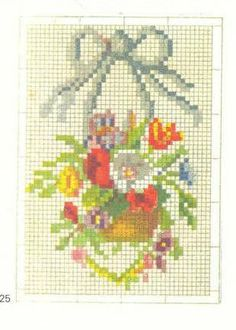 French woolwork chart